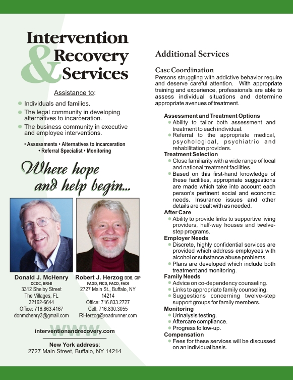 List of Drug and Alcohol Intervention and Interventionists in Florida